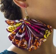 african earrings